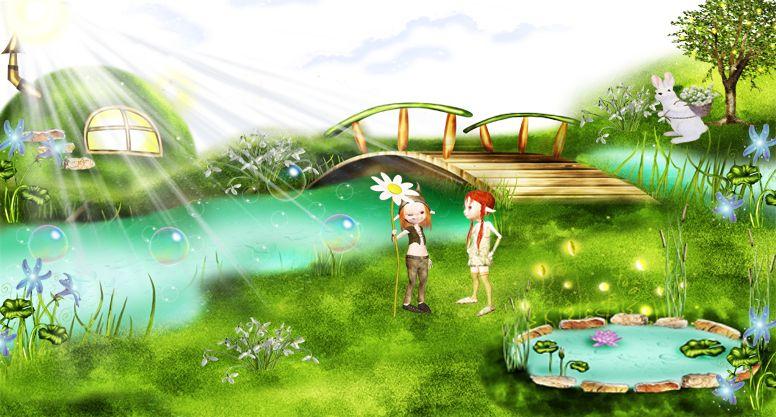 картинки речка для детей